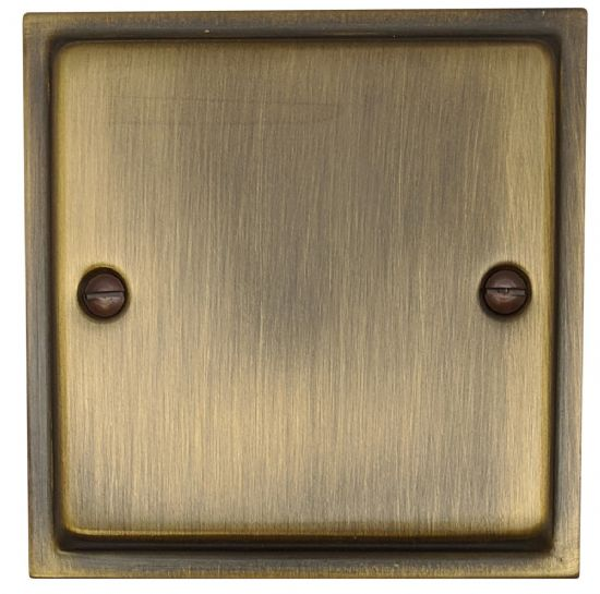 Highline Plate Antique Bronze